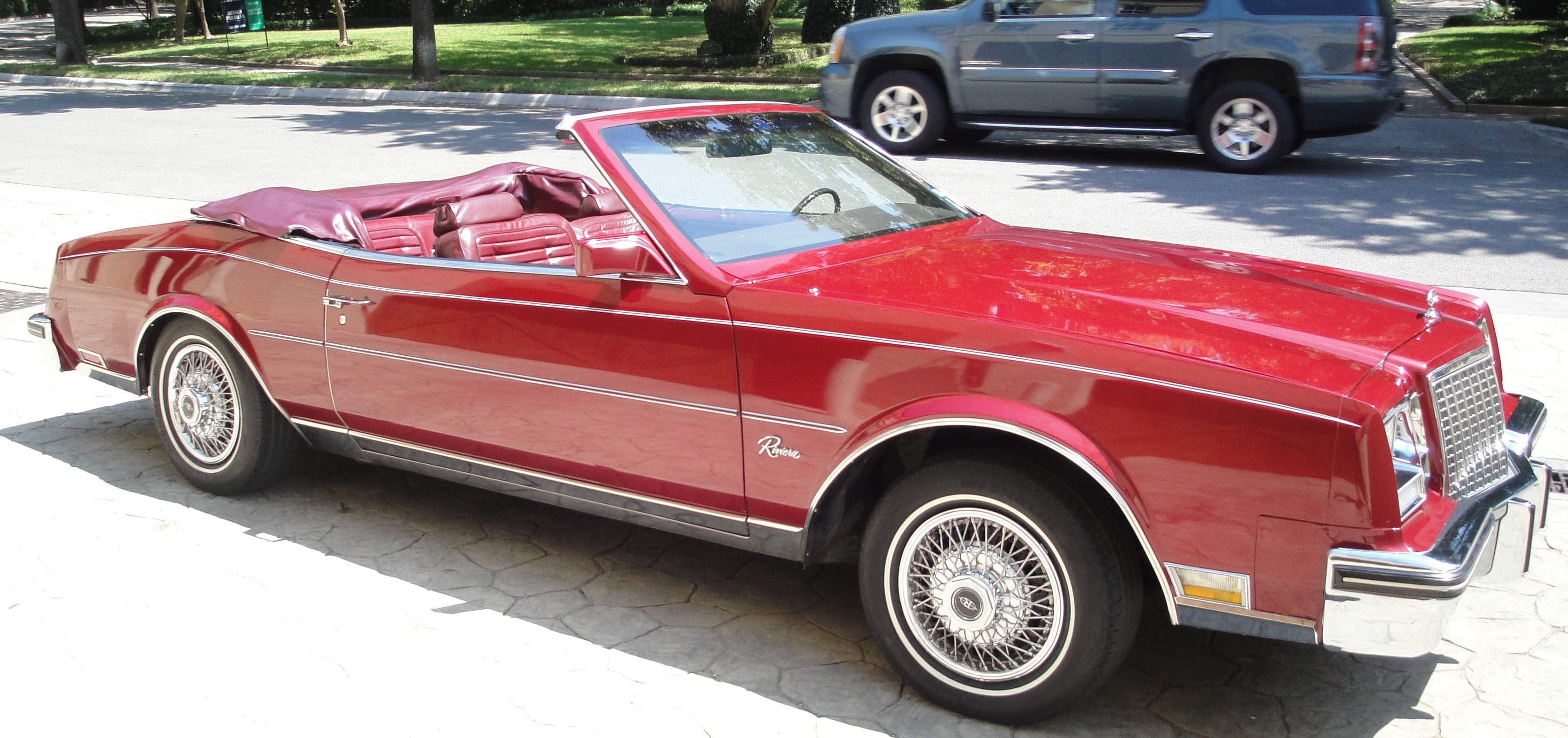 Buick Riviera Convertible Picture Gallery